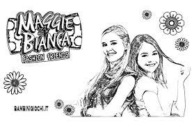 Maggie E Bianca Disegni Da Colorare