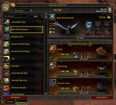 Wow Pet Battle Chart Pet Battles And You A Trainers Manual Guides Wowhead