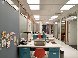 mad men office furniture. Secretarial Desks Are Reproductions. Photography By Eric Laignel. Mad Men Office Furniture