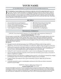 10 Accounts Receivable Resumes Samples 1mundoreal
