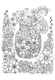 Small Picture Coloring Therapy For Anxiety Coloring Page