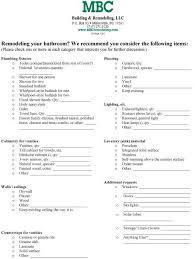 bathroom remodeling checklist bathroom remodel checklist basement renovations in 2019 bathroom