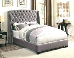 Quilted Bed Frame Queen With Soft Headboard Padded Leather ...