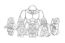 Superheroes and their superpowers excite the children no end. The Avengers Coloring Pages For Kids