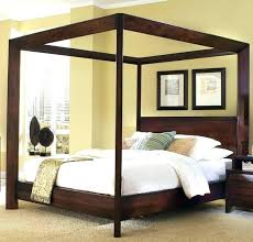 Canopy Bed King Canopy Beds Wooden Incredible King Canopy Bed Can ...