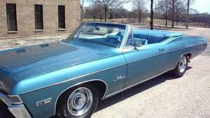 1968 CHEVROLET IMPALA SS 427 CONVERTIBLE FOR SALE - YouTube