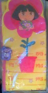 New Avon Dora The Explorer Growth Chart Plush Wall Hanging