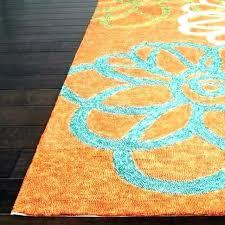 blue green outdoor rug blue and orange rug blue and orange outdoor rug astounding orange outdoor