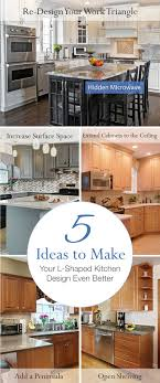 Kitchen Design Pic The 25 Best L Shaped Kitchen Ideas On Pinterest L Shaped