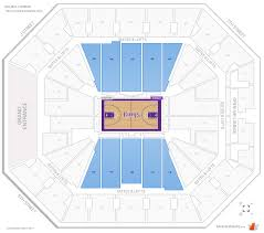 Sacramento Kings Stadium Seating Chart Sacramento Kings Seating Guide Golden 1 Center
