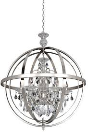 inspiring brushed nickel crystal chandelier brushed nickel chandelier modern round silver metal chandeliers with