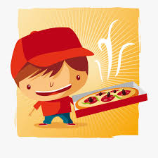 Catering Clipart Dining Clipart Food Catering Pizza Delivery Boy Png