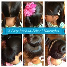 6 Easy Back-to-School Hairstyles for Girls (Short \u0026 Long hair ...