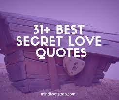 inspiring secret love es sayings