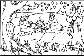 Small Picture Bible story coloring pages goatherd ColoringStar