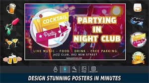 Get Poster Maker Thumbnail Cover Flyer Ad Page Designer