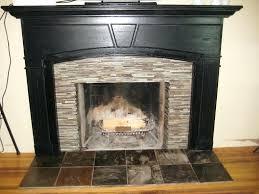 fireplace surround ideas stone mosaic tile modern lime diy electric fireplace surround ideas slate tile