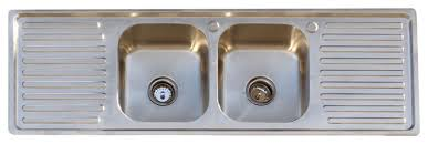 304 stainless steel vintage style farm sink stamp metal double