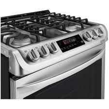 Appliances Range Lsg4511st Lg Appliances Slide In Gas Convection Range Stainless