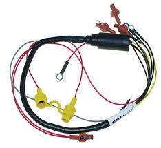 wiring harnesses marine engine parts fishing tackle basic wire harness internal engine mercury mariner 45 50hp 1981 89 84 96277a4