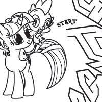 Small Picture 549 best My Little Pony Coloring Pages images on Pinterest