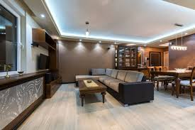 ceiling tray lighting. here is an interesting take on the tray ceiling where these a lighting element