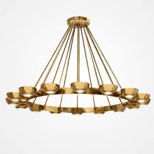chandelier by gino sarfatti for arteluce