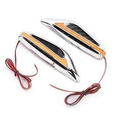 Online Shop <b>New Arrival 1 Pair</b> Car Steering Fender Side Lamp ...