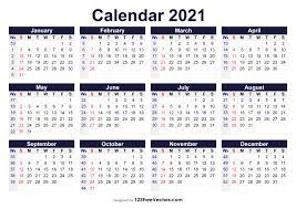 Click here for the german kalenderwochen 2021. Free Printable 2021 Calendar With Week Numbers