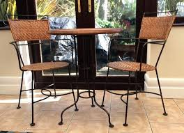 wrought iron indoor furniture. Indoor Furniture Outside Wrought Iron Bistro Table And Two Chairs For Use .