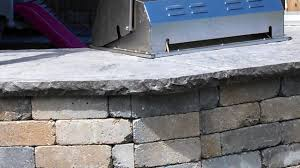 stamped concrete countertop 6