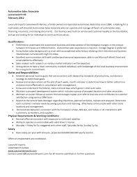 Retail Job Description Resume Retail Sales Associate Resume Automotive Sales Associate Objective 85