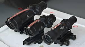 Acog Comparison Ta11 Vs Ta31 Vs Ta33 Vs Ta44 C