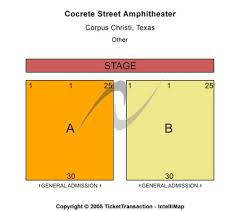 Concrete Street Amphitheater Corpus Christi Tx Seating Chart Old Concrete Street Amphitheater Tickets Old Concrete