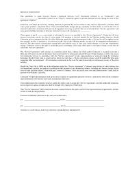 Contract Service Agreement Awesome 48 Janitorial Service Contract Examples PDF