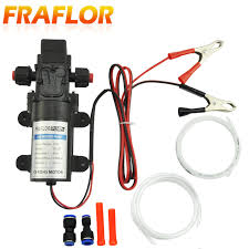 Free Shipping New <b>1 Set DC 12V</b> 5L Transfer Pump Extractor Oil ...