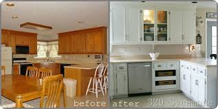 paint kitchen cabinets before and afterPaint Kitchen Cabinets Before And After New Picture Painted