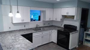 cabinets so we can replace any worn or damaged cabinetry most projects are 100 completed in 4 5 days after the installation commences