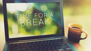 Image result for desk break during the workday image