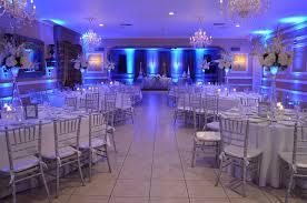 wedding reception receptions and chairs on pinterest blue wedding uplighting
