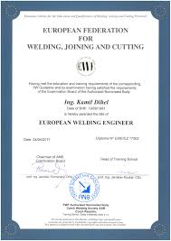 international european engineer diploma ewe cz