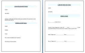 Invoice Selling Used Car Receipt Template Auto Body Invoice Parts Pdf Word Excel