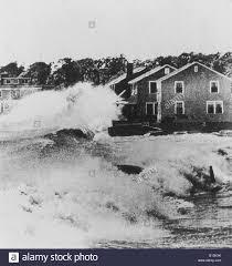 Huge Waves Batter Old Lyme Connecticut During Hurricane