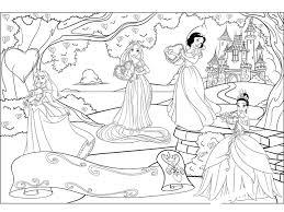 четыре принцессы Razukrashki Com Coloring Sheetscoloring