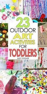 50 awesome summer activities for toddlers art activities