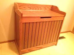 wooden hamper tilt out white wood hampers laundry image of best bench double wo interior narrow clothes hamper wood