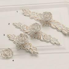 drawer pulls for furniture. Drawer Pulls For Furniture. Ivory Gold Rose Flower Shabby Chic Dresser Handles Knobs Furniture