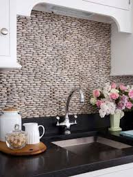 Cobblestone Kitchen Floor Cobblestone Kitchen Backsplash Idea New House Pinterest