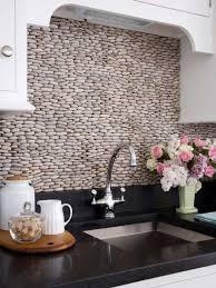 Cobblestone Kitchen Floor Cobblestone Kitchen Backsplash Idea New House Pinterest