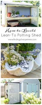 Potting Shed Designs leanto potting shed build plans finding silver pennies 3271 by xevi.us
